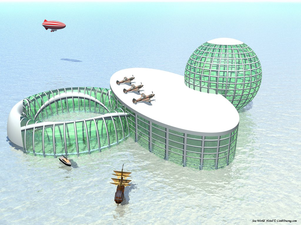 Sea_World_Hotel_by_LinhTruong